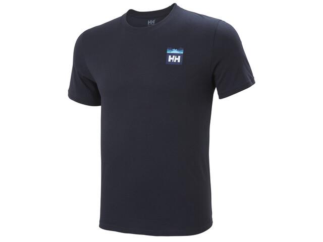 Helly Hansen Nord Graphic HH Camiseta Hombre, azul